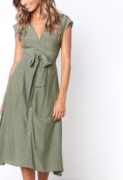Vintage Summer Midi Dress – Galilee Life