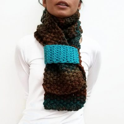 Brown KETURAH Scarf Vone Kevitz