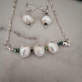White Fresh Water Pearls