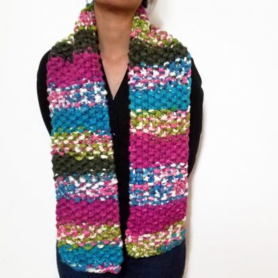 Pretty In Pink Scarf Vone Kevitz