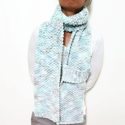 Light Sky Blue KETURAH Scarf Vone Kevitz