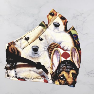 Dogs Mask for Humans SIDE