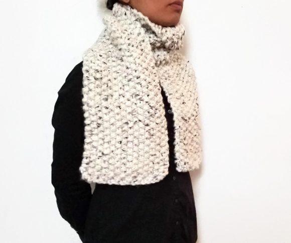 Vone Kevitz Mega Tweed Super Bulky Scarf