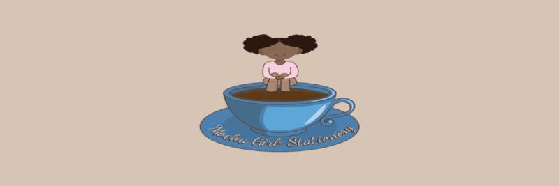 Mocha Girl Stationery