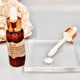 Ginseng Radiance Time Reverse Serum | Firming anti-ageing serum with multi-molecular hyaluronic acid, B5, colloidal oatmeal & retinol