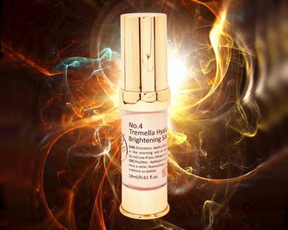 Eye Gel Tremella Hyaluronic Acid Brightening Silk | aloe vera, allantoin, moisturizing anti-aging anti-wrinkle lifting serum cream eye gel