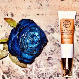 Tremella Hyaluronic Brightening Silk Face Emulsion | aloe vera, hydrating urea tone moisturizing anti-aging anti-wrinkle lifting cream serum
